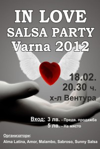 IN LOVE SALSA PARTY - 18.02.2012