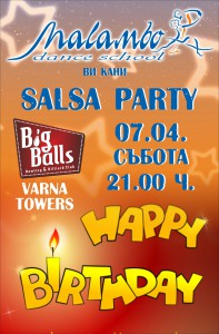 HAPPY BIRTHDAY MALAMBO - SALSA PARTY @ BIG BALLS